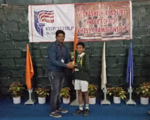 Abhijit Biswas bagged 4th Prize