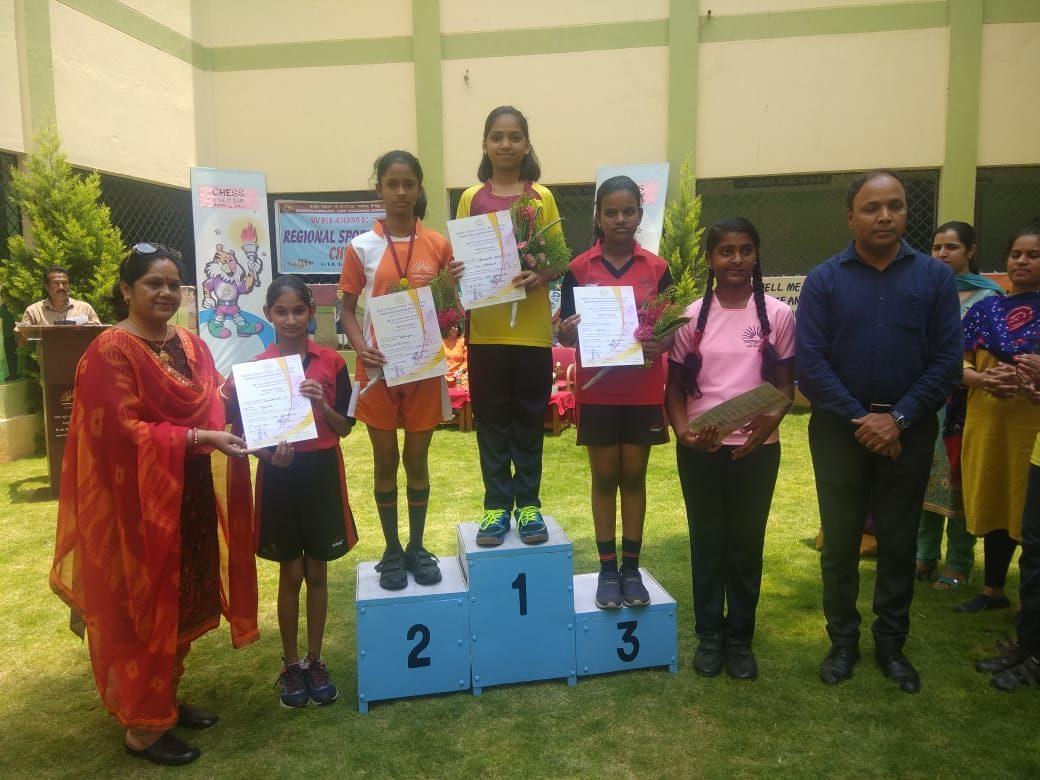 Anoushka Bhatt Bags Gold in the 50th KVS Regional Sports Meet, Bengaluru Region
