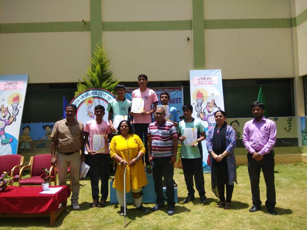 Anantha Krishna Nayak Bags Gold in the 50th KVS Regional Sports Meet, Bengaluru Region