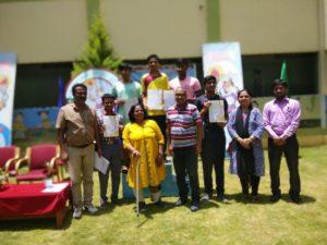 Abhinav Bhatt Bags Gold in the 50th KVS Regional Sports Meet, Bengaluru Region