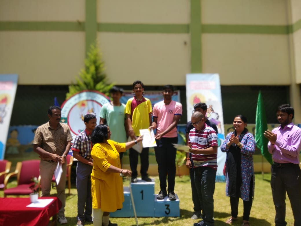 Aditya E Bags Bronze in the 50th KVS Regional Sports Meet, Bengaluru Region