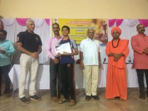 Arkojyoti Banerjee got 3rd Prize in Belgaum Open FIDE Rated Tournament