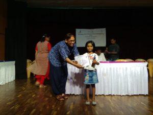 Dhanyatha H got 5th Prize in Karnataka State Women's Chess Championship