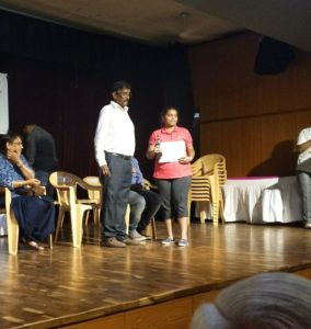 Shreeya H got 2nd Prize in Karnataka State Women's Chess Championship